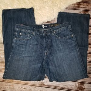 7 For All Mankind 'A' Pocket relaxed size 33